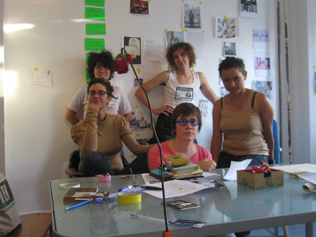 Issue 4 Editorial meeting, 2005